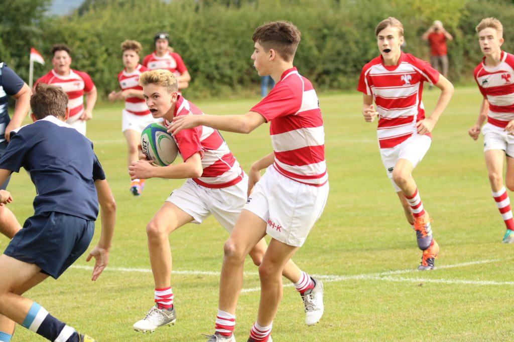 Senior school sport - Rugby