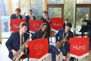 Senior school music - brass band