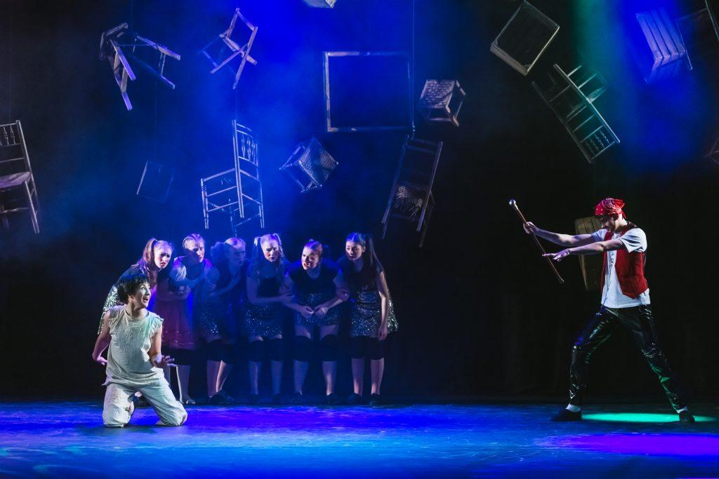 A-Level Dance show pinoccio
