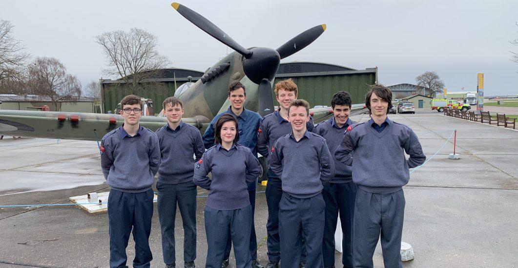 CCF RAF trip